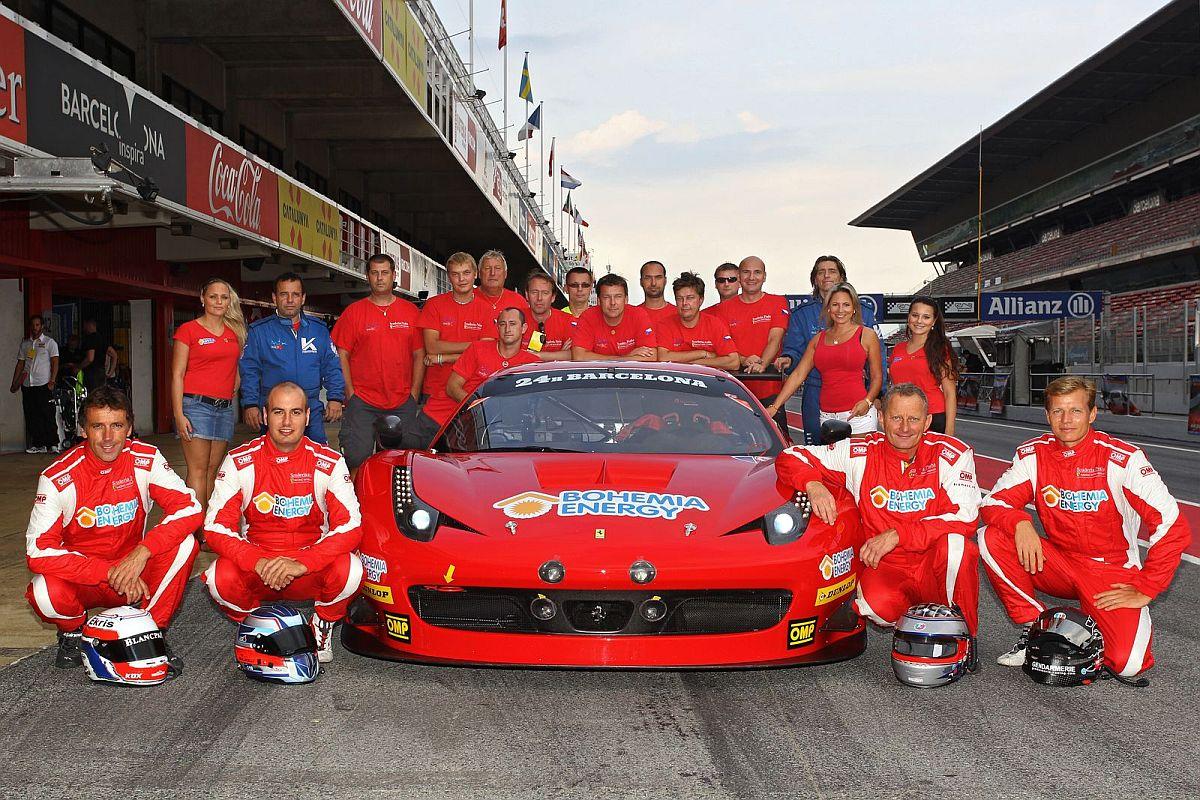 Peter Kox Historic Czech Victory In 24h Barcelona And Fermi Velez Trophy With Ferrari 458 Gt3