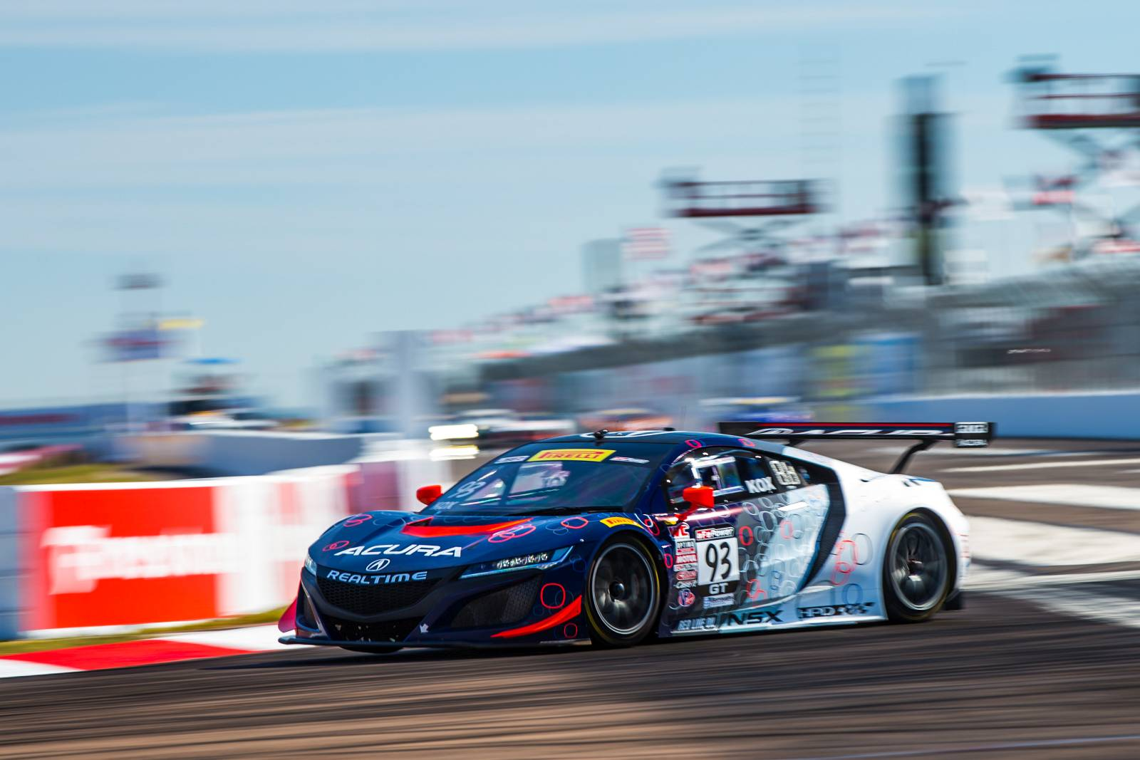 RealTime Acura NSX GT3 Makes Strong Pirelli World Challenge Debut