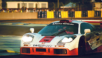 Le Mans 1996 West Competition McLaren F1 GTR