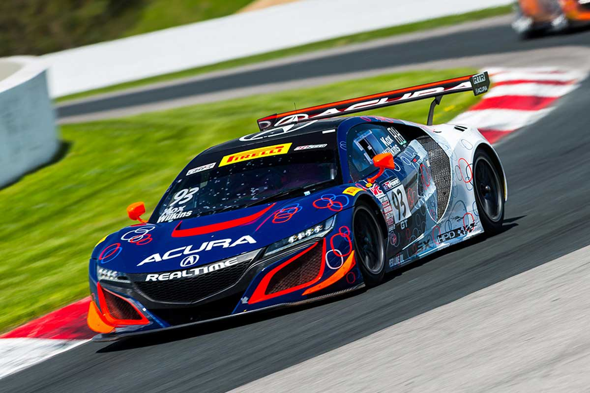 Top 10 Finish for RealTime Acura in Abbreviated Canada Weekend