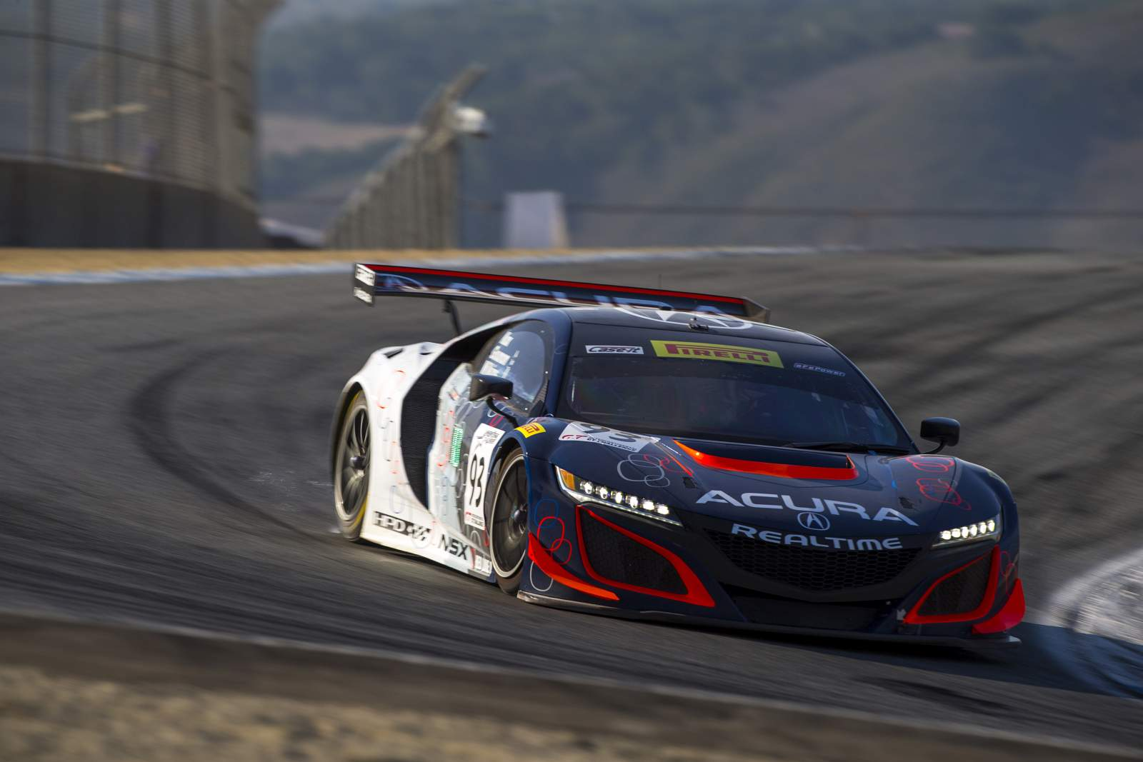 RealTime Top Five Finish in California 8 Hours for RealTime Acura