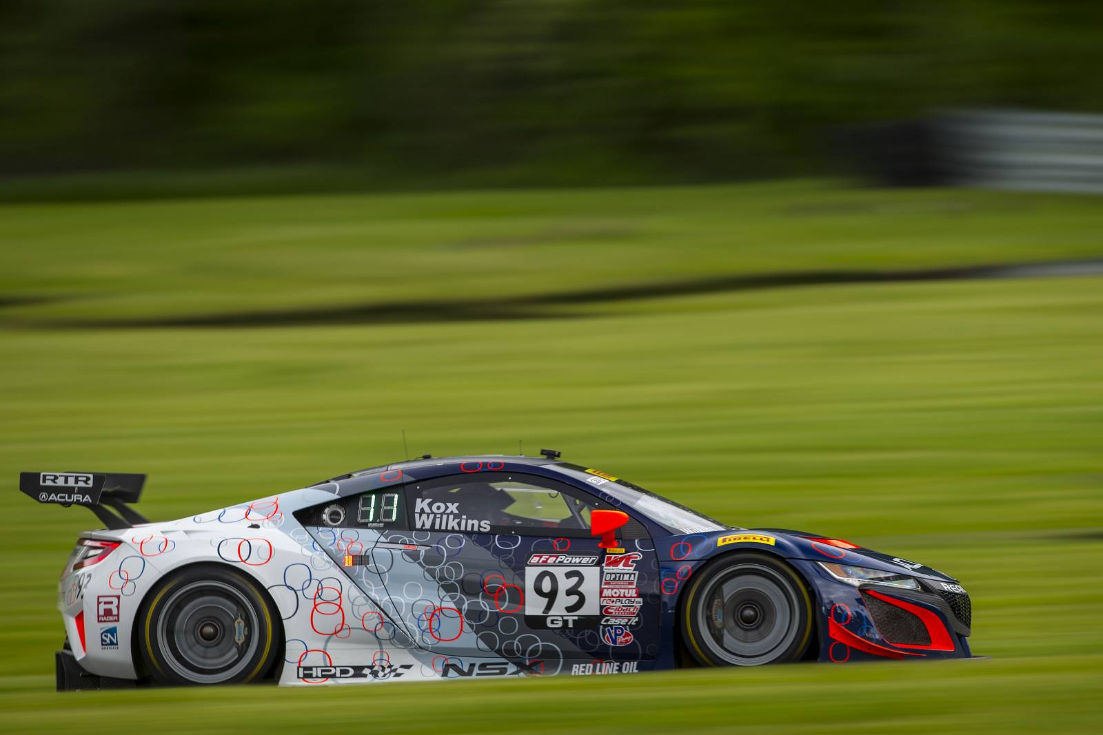 RealTime Acura Earns Two Top Five Finishes At Lime Rock Park With Acura NSX  GT3