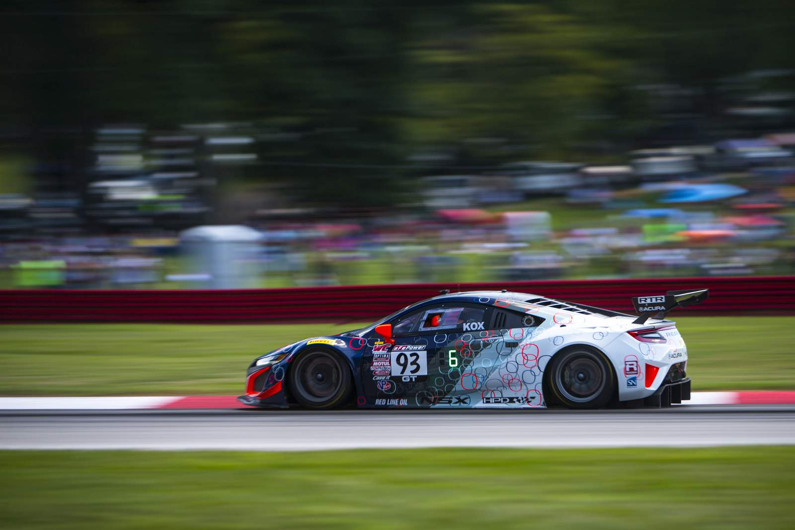 RealTime Acura Earns Three Top-10 Results at Mid-Ohio