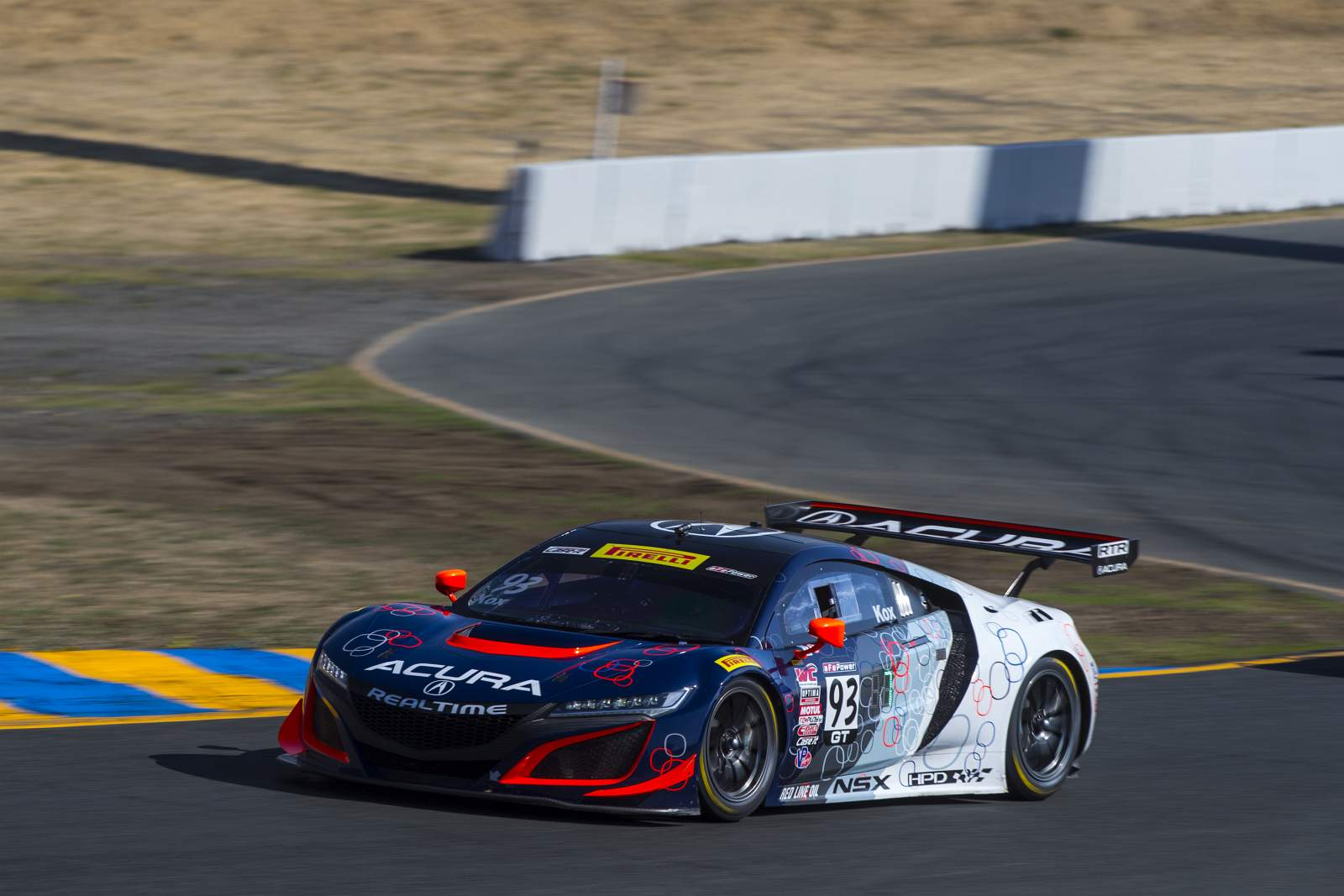 Time Acura Closes Out Pirelli World Challenge Season in Sonoma