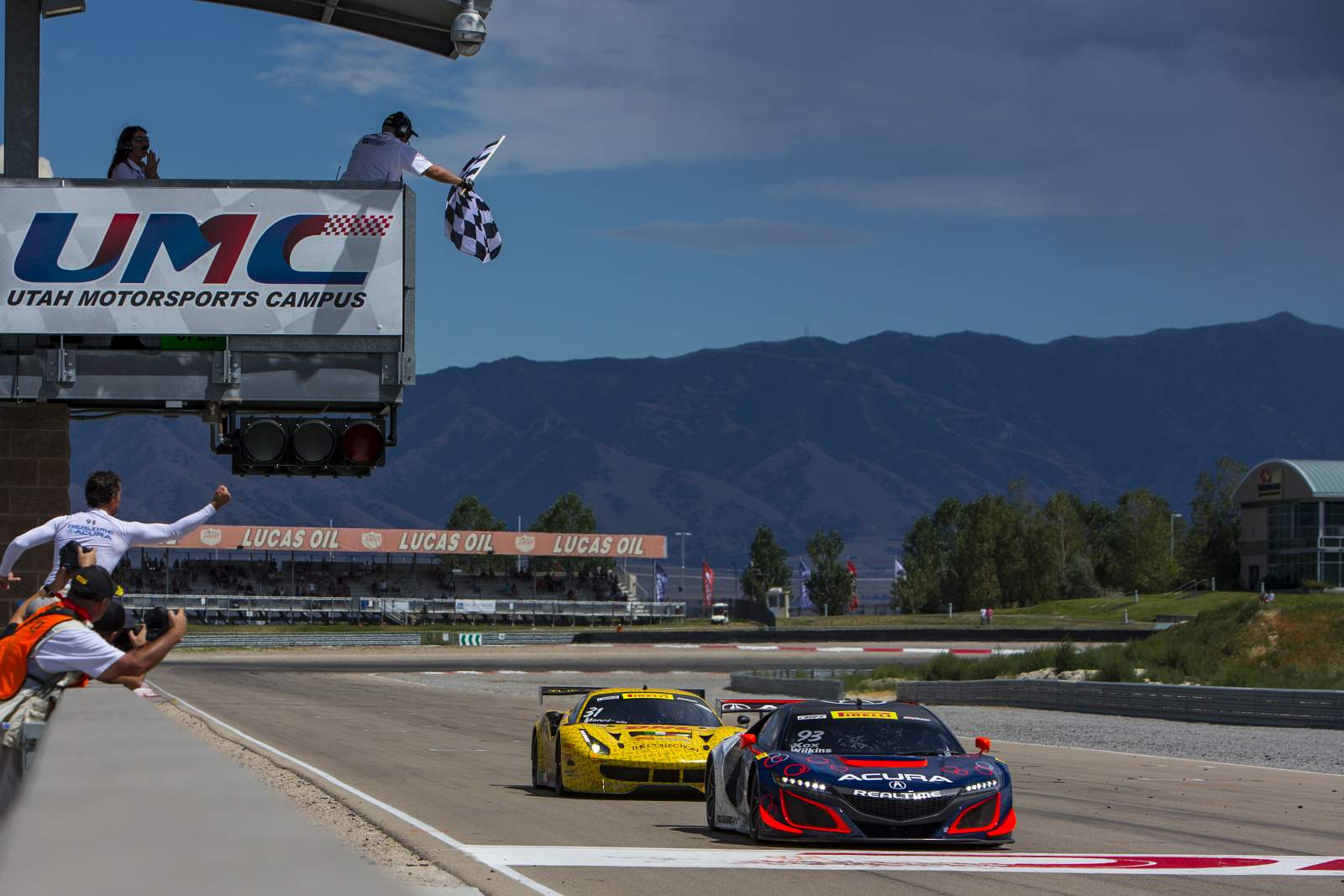 Acura's Kox and Wilkins Prevail for NSX GT3 Victory in Utah
