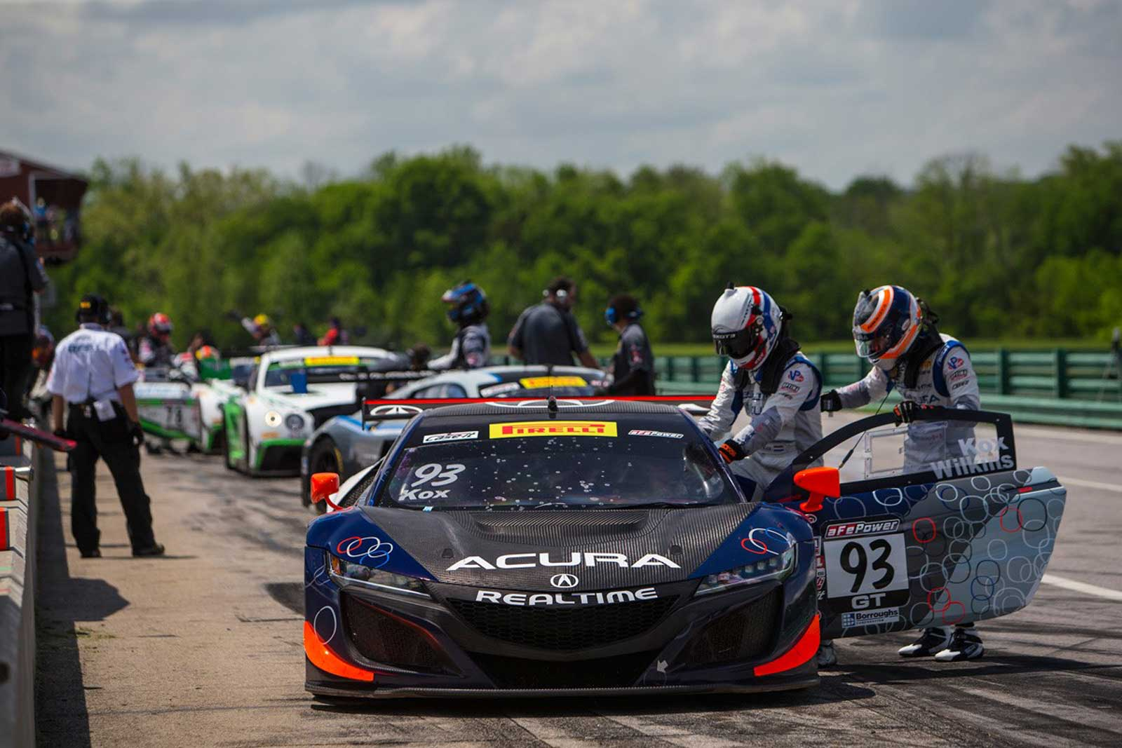 RealTime Acura Makes Big Gains in Sprint-X at VIR